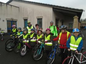Windmill's Cyclists Take to the Road