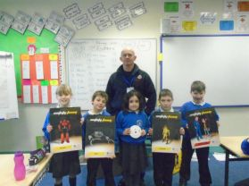 P5 Get a Visit from Mark the Fire Officer