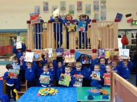 World Book Day in Nursery