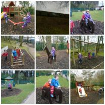 Nursery have a great visit to Sperrinview.