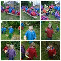Egg Hunt in Bear Woods.