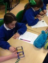 P5 Have been learning about and investigating nets of cubes
