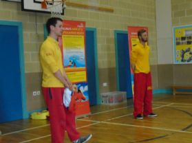 The RNLI visit our school.