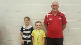 2 Table tennis medals for Windmill.