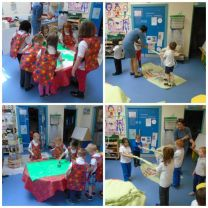 Nursery works with artist Grainne Kielty.