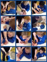The nursery enjoyed an amazing visit from Zoolab.