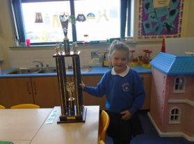 Well done to this P2 Girl