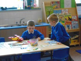 Working hard in P1