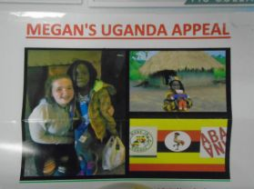 Megan's Pounds for Pennies Uganda Appeal