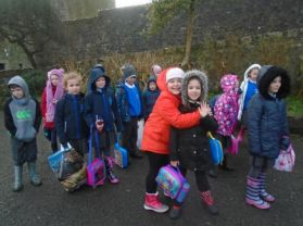 Mrs Vaughan's P4 Trip to Parkanaur.