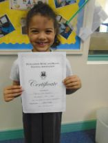 Well done to our P2 Student