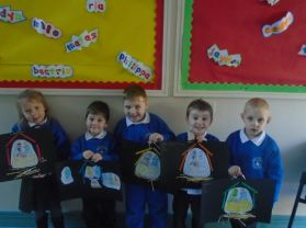 Christmas Art in P1