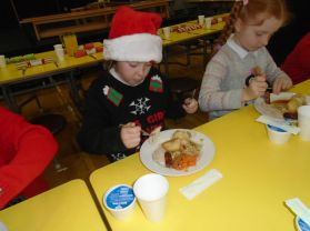 Key Stage 2 Christmas Dinner